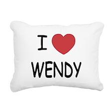 WENDY.png Rectangular Canvas Pillow