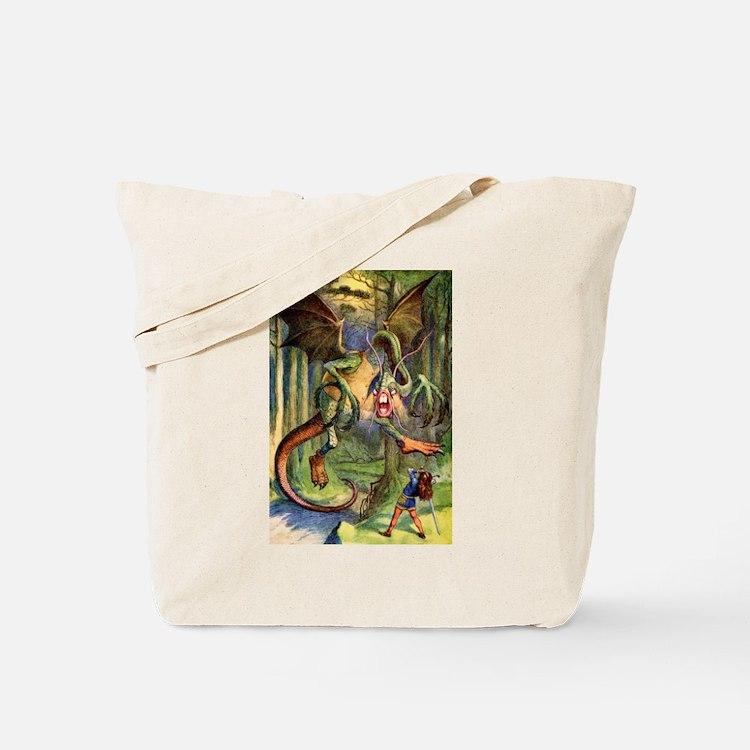 Beware the Jabberwock, My Son Tote Bag