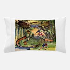 Beware the Jabberwock, My Son Pillow Case