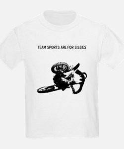 motocross team sports are for sissies T-Shirt