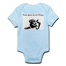 motocross team sports are for wimps Infant Bodysui