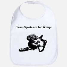 motocross team sports are for wimps Bib