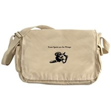 motocross team sports are for wimps Messenger Bag