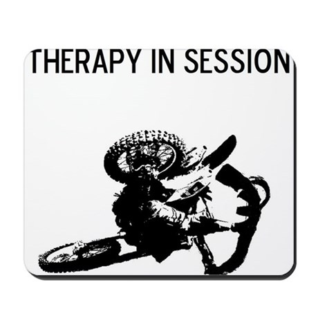 motocross therapy in session Mousepad