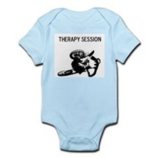 motocross therapy in session Infant Bodysuit