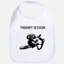 motocross therapy in session Bib