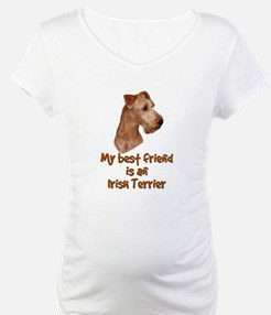 My best friend is an Irish Terrier Shirt