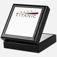 Sinking Titanic Keepsake Box