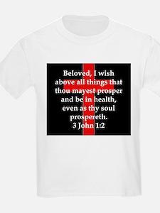 3 John 1-2 T-Shirt