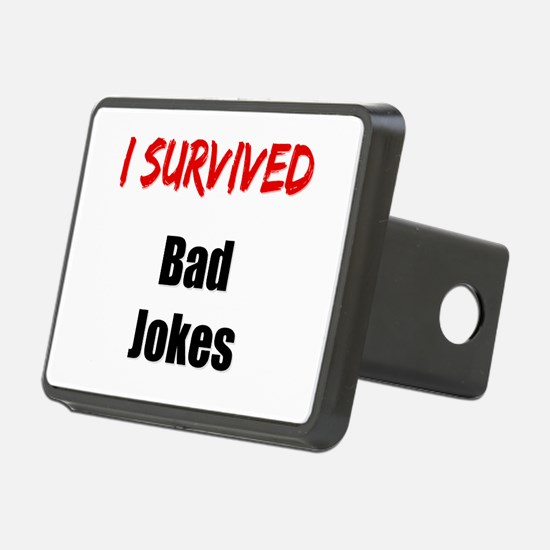 I survived BAD JOKES Hitch Cover