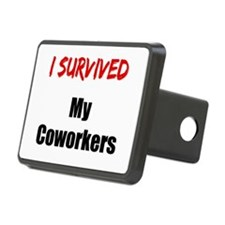 I survived MY COWORKERS Hitch Cover