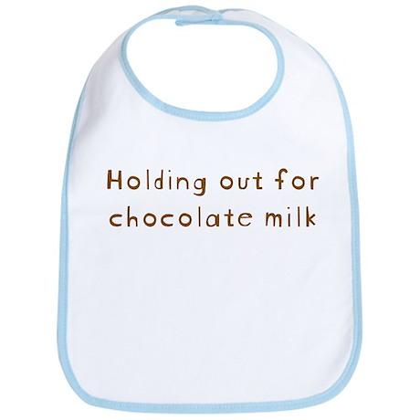 Chocolate Milk Bib