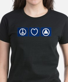 Peace Love Sobriety Tee