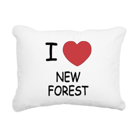 NEW_FOREST.png Rectangular Canvas Pillow