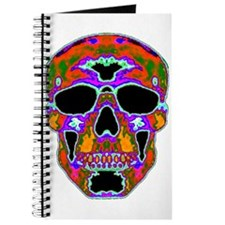 Psychedelic Skull Journal