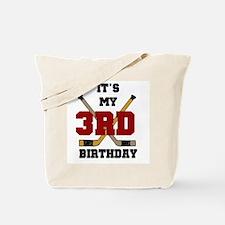 Hockey 3rd Birthday Tote Bag