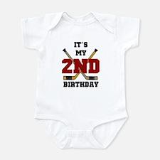 Hockey 2nd Birthday Infant Creeper
