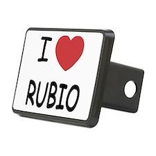 I heart Rubio Hitch Cover