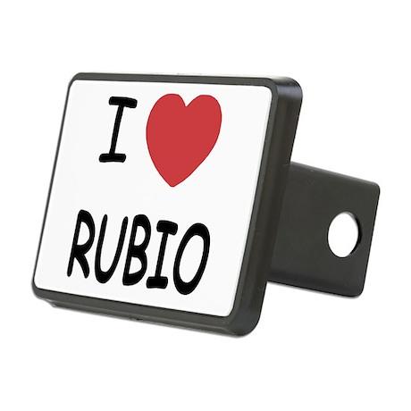 I heart Rubio Rectangular Hitch Cover
