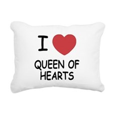 QUEEN_OF_HEARTS.png Rectangular Canvas Pillow