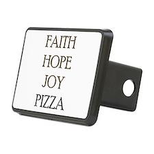 FAITH HOPE JOY PIZZA Hitch Cover
