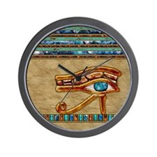 Harvest Moons Eye of Ra Wall Clock