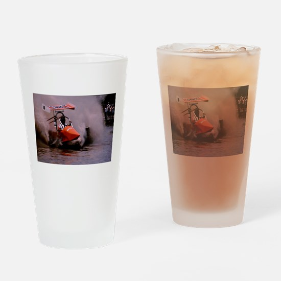 Naples Florida Swamp Buggy Racer Drinking Glass
