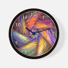 Fractal Pinwheel Custom Wall Clock