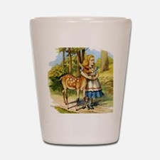 Alice and the Doe Shot Glass