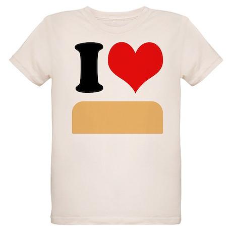 I heart Twinkies Organic Kids T-Shirt