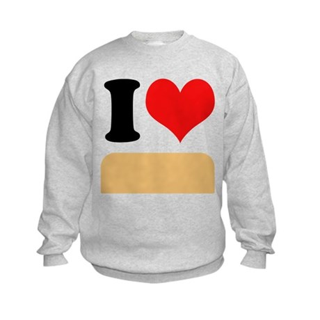 I heart Twinkies Kids Sweatshirt
