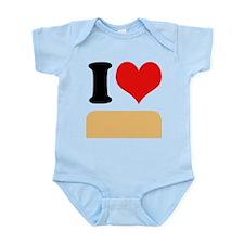 I heart Twinkies Infant Bodysuit
