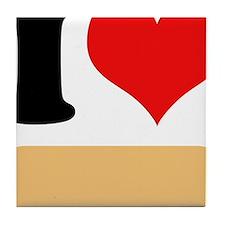 I heart Twinkies Tile Coaster