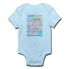 Bodyboarding Infant Bodysuit