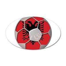 Albania Flag World Cup Football Soccer Ball Wall Decal