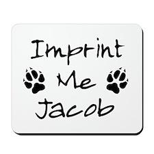 Imprint Me Jacob - Black Mousepad