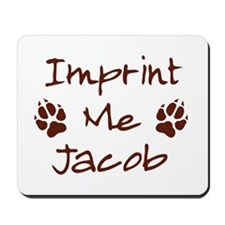 Imprint Me Jacob - Brown Mousepad