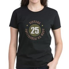 25th Vintage birthday Tee