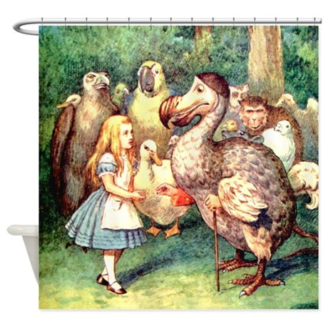 Alice and the Doe Shower Curtain