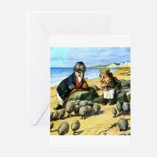 The Carpenter and the Walrus Greeting Card