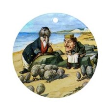 The Carpenter and the Walrus Ornament (Round)