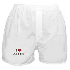 I HEART ALYTH  Boxer Shorts