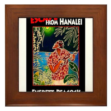 Escape from Hanalei Framed Tile