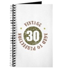 30th Vintage birthday Journal