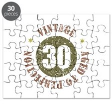 30th Vintage birthday Puzzle