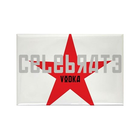 celebrate vodka Rectangle Magnet