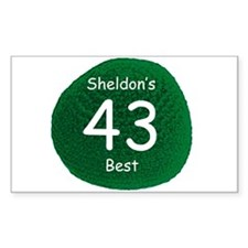 Sheldon's Personal Best Decal