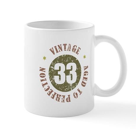 33rd Vintage birthday Mug