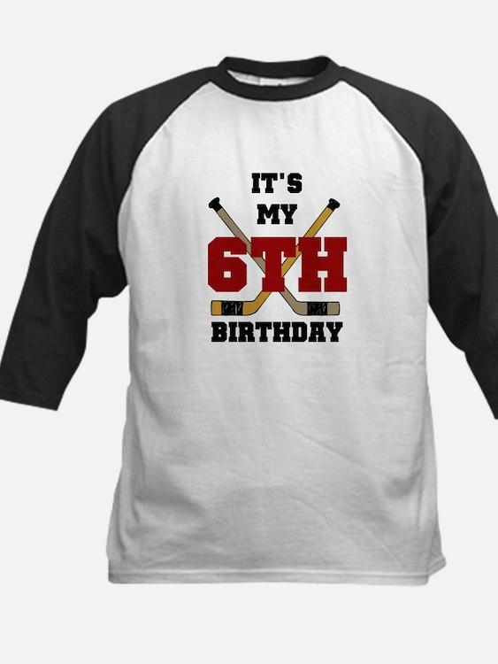 Hockey 6th Birthday Tee