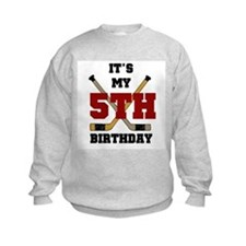 Hockey 5th Birthday Sweatshirt
